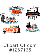 Halloween Clipart #1267135 by Vector Tradition SM