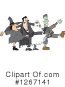 Royalty-Free (RF) Halloween Clipart Illustration #1267141