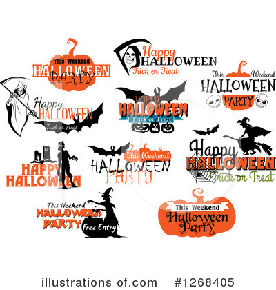 Royalty-Free (RF) Halloween Clipart Illustration by Vector Tradition SM - Stock Sample #1268405