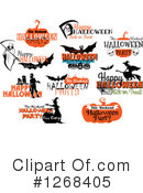 Halloween Clipart #1268405 by Vector Tradition SM