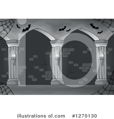 Haunted Hallway Clipart #1270130 by visekart