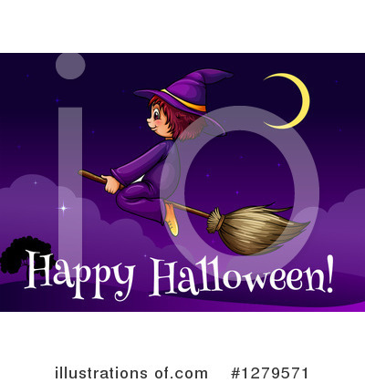 Witch Clipart #1279571 by Graphics RF