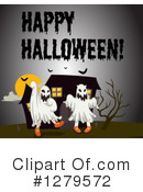Royalty-Free (RF) Halloween Clipart Illustration #1279572
