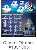 Royalty-Free (RF) Halloween Clipart Illustration #1331895
