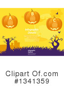 Halloween Clipart #1341359 by elaineitalia