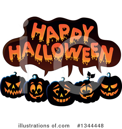 Halloween Clipart #1344448 by visekart