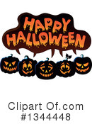 Royalty-Free (RF) Halloween Clipart Illustration #1344448