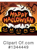 Halloween Clipart #1344449 by visekart