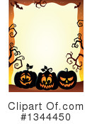 Royalty-Free (RF) Halloween Clipart Illustration #1344450