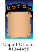Halloween Clipart #1344458 by visekart
