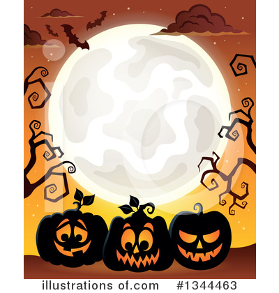 Halloween Clipart #1344463 by visekart