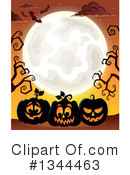 Royalty-Free (RF) Halloween Clipart Illustration #1344463