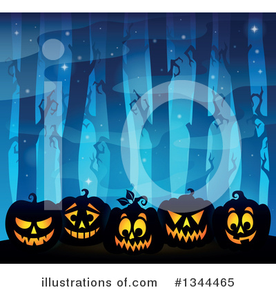 Halloween Clipart #1344465 by visekart