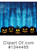 Royalty-Free (RF) Halloween Clipart Illustration #1344465