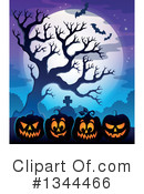 Halloween Clipart #1344466 by visekart
