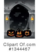 Halloween Clipart #1344467 by visekart