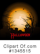 Royalty-Free (RF) Halloween Clipart Illustration #1345515
