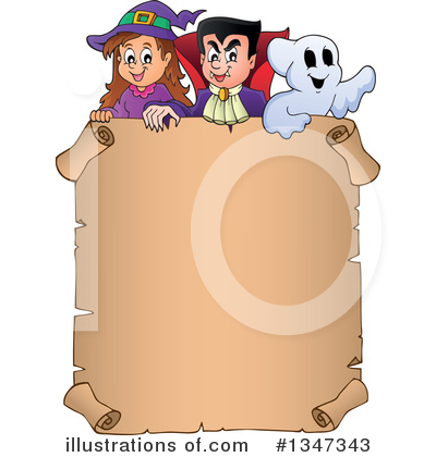 Halloween Clipart #1347343 by visekart