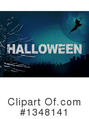 Royalty-Free (RF) Halloween Clipart Illustration #1348141