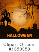 Royalty-Free (RF) Halloween Clipart Illustration #1350359