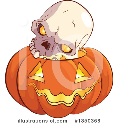 Skull Clipart #1350368 by Pushkin