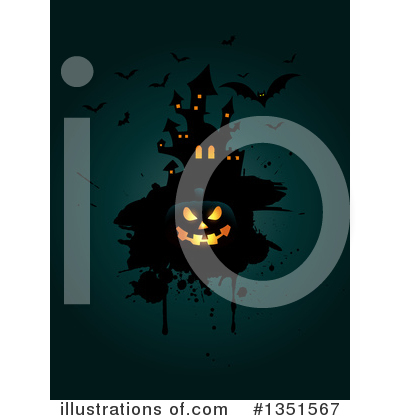 Halloween Clipart #1351567 by KJ Pargeter