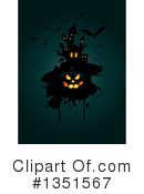 Royalty-Free (RF) Halloween Clipart Illustration #1351567