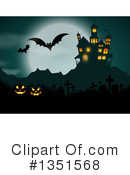 Royalty-Free (RF) Halloween Clipart Illustration #1351568