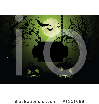 Halloween Clipart #1351699 by Pushkin