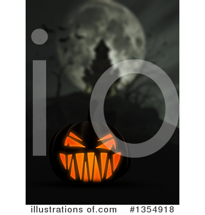 Halloween Clipart #1354918 by KJ Pargeter