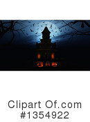 Royalty-Free (RF) Halloween Clipart Illustration #1354922