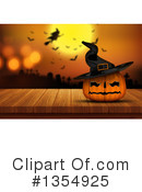 Halloween Clipart #1354925 by KJ Pargeter