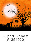 Royalty-Free (RF) Halloween Clipart Illustration #1354930