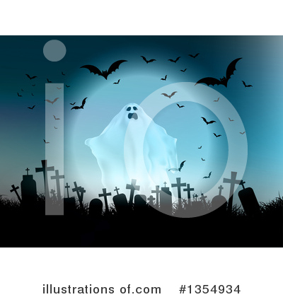 Ghost Clipart #1354934 by KJ Pargeter