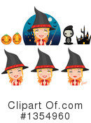Halloween Clipart #1354960 by Melisende Vector