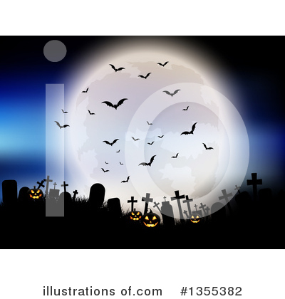 Royalty-Free (RF) Halloween Clipart Illustration by KJ Pargeter - Stock Sample #1355382