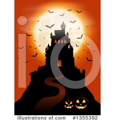 Halloween Clipart #1355392 by KJ Pargeter