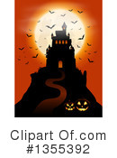 Royalty-Free (RF) Halloween Clipart Illustration #1355392