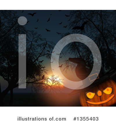 Witch Hat Clipart #1355403 by KJ Pargeter