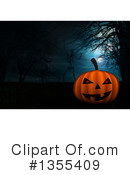 Halloween Clipart #1355409 by KJ Pargeter