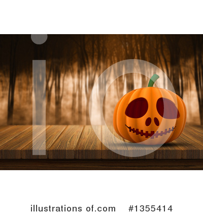 Forest Clipart #1355414 by KJ Pargeter