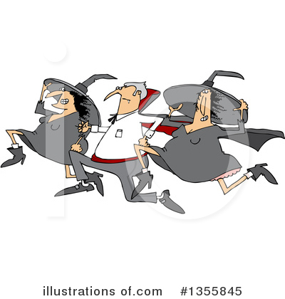 Witch Clipart #1355845 by djart