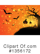 Royalty-Free (RF) Halloween Clipart Illustration #1356172