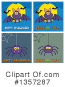 Royalty-Free (RF) Halloween Clipart Illustration #1357287