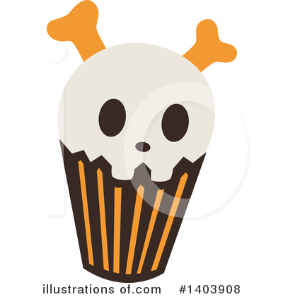 Halloween Clipart #1403908 by Cherie Reve