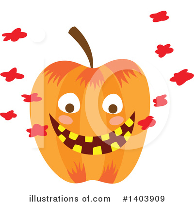 Halloween Clipart #1403909 by Cherie Reve