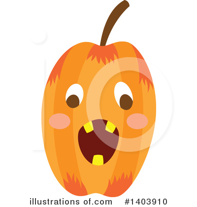 Halloween Clipart #1403910 by Cherie Reve