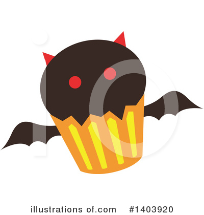 Halloween Clipart #1403920 by Cherie Reve