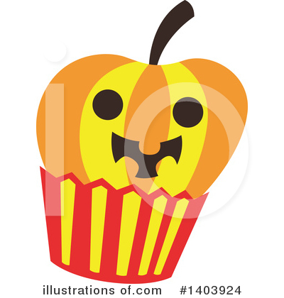 Halloween Clipart #1403924 by Cherie Reve