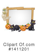 Halloween Clipart #1411201 by AtStockIllustration
